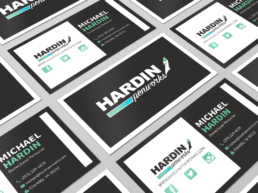 Hardin penworks business cards