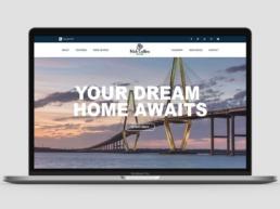 nick collins website design hime