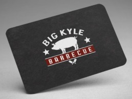 big Kyle business card