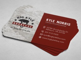 big Kyle business cards