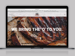 big Kyle bbq brand identity web design