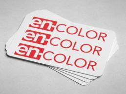 enColor new logo design